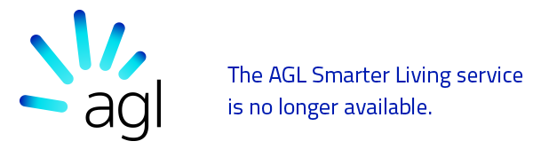 AGL Smarter Living - This service is no longer available.
